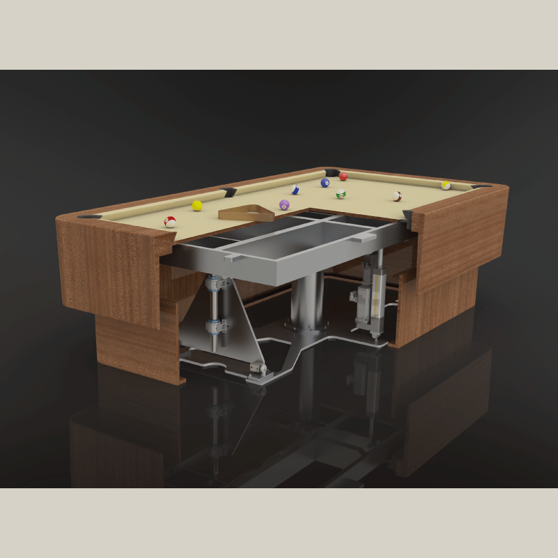 Pool Table Platform for Luxury Cruise