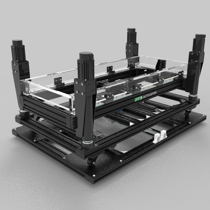 Platform Pre-built 4 Actuators + Double TL + Surge